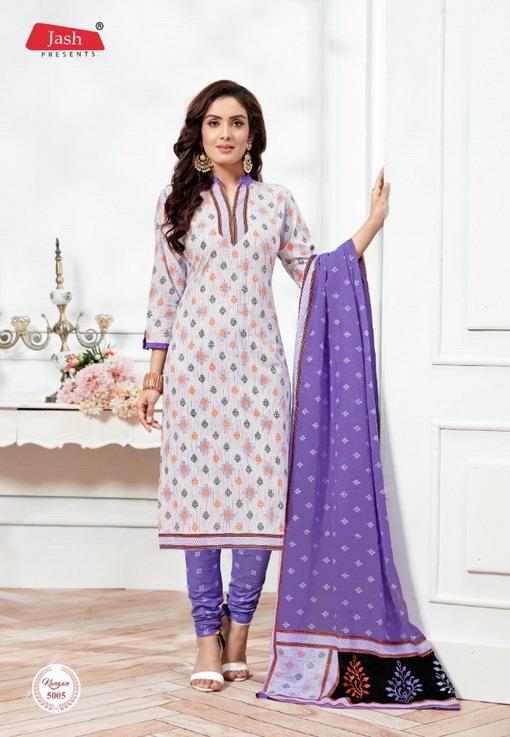 Jash Kangan vol 5 unstiched cotton salwar kameez wholesaler