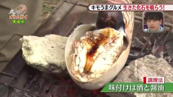 オウムガイ壷焼き