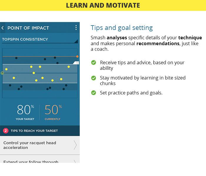 アプリで確認できる機能:コーチング