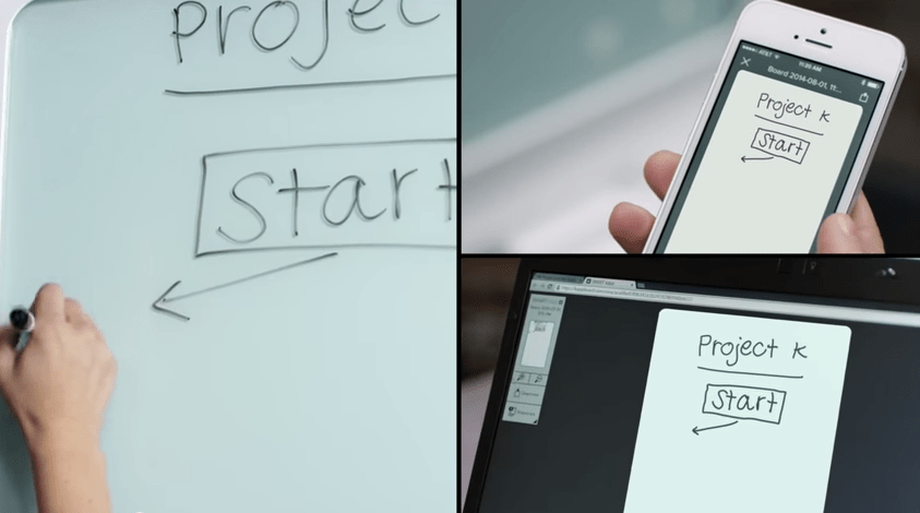 SMART kapp  the dry erase board reinvented   YouTube