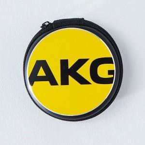1_000000078474_アーカーゲー【新製品】AKG AKG EARPHONE CASE イエロー【AKGEPCASEYEL】【イヤホンケース】
