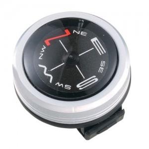 10.Vixen コンパス オイルフロート式コンパス メタリックコンパス シルバー 42033-9