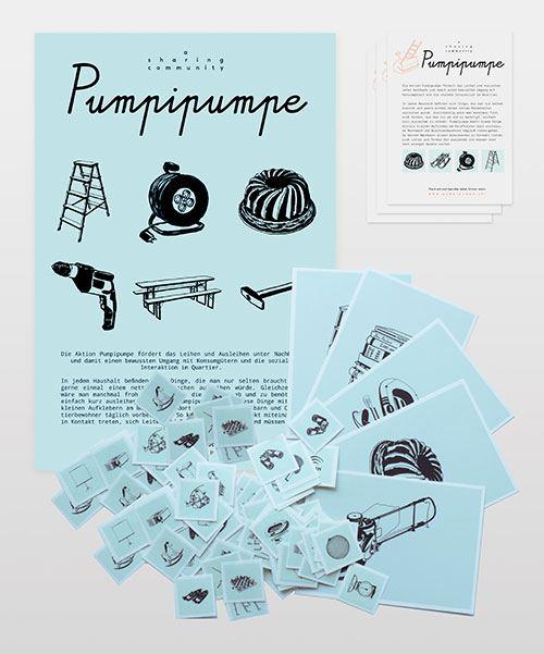 Pumpipumpeのシール