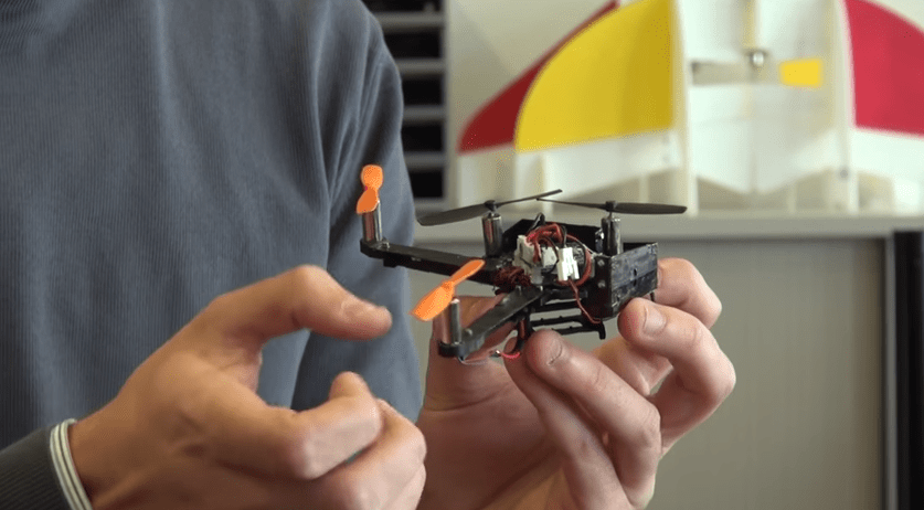 A folding drone that s ready for takeoff in a snap   YouTube