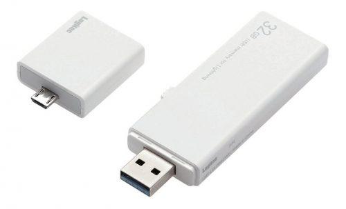 ロジテック(Logitec) USBメモリ 32GB LMF-LGU332GWH