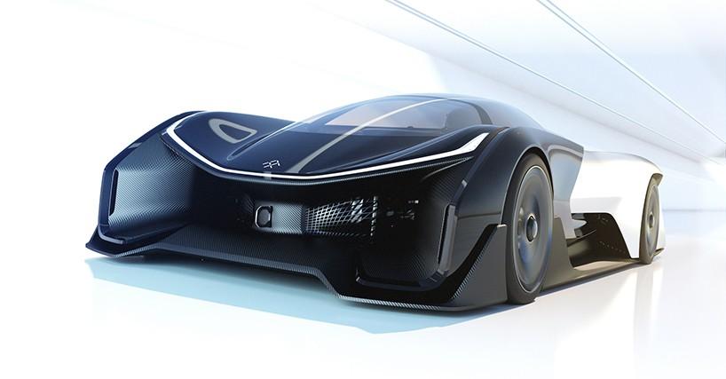 ついにベールを脱いだ!次世代EVコンセプトカー「FFZERO1」