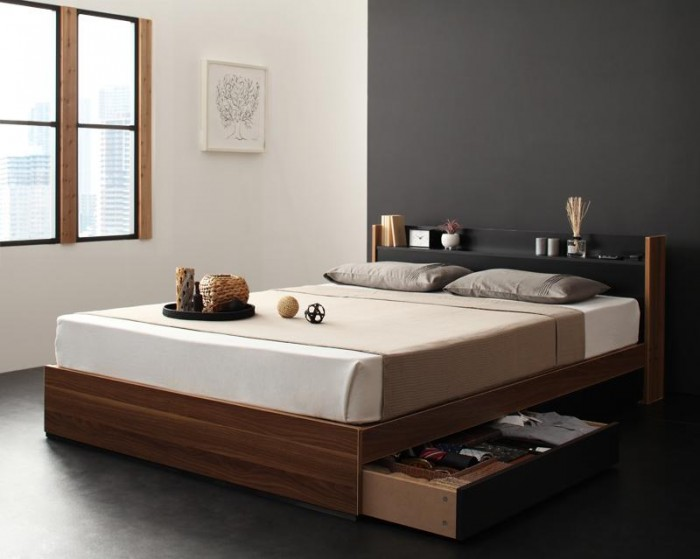 収納ベッドのイメージ