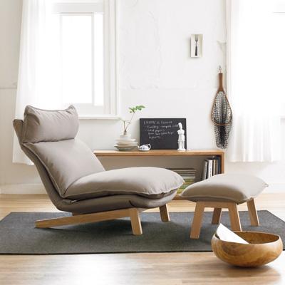 リクライニング式1人掛けソファのイメージ