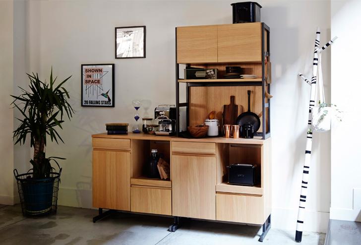 収納 家具 おすすめ 男前インテリアのキッチン収納家具おすすめ10選。料理男子への第一歩