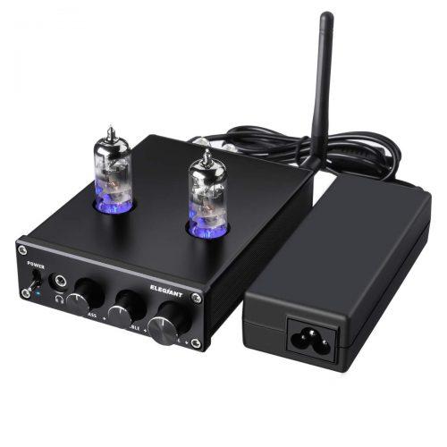ELEGIANT Bluetooth真空管プリメインアンプ/ヘッドホンアンプ