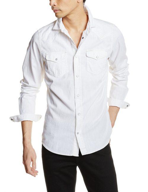 白シャツ10