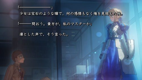 Fate/stay night [Realta Nua] - 角川ゲームス