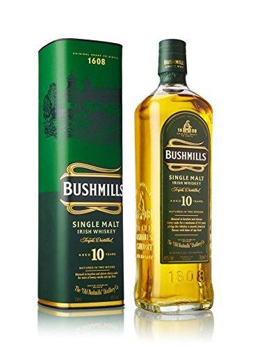 ブッシュミルズ(BUSHMILLS) 10年 シングルモルト アイリッシュウイスキー