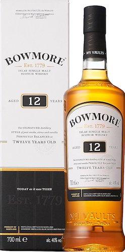 ボウモア(BOWMORE) 12年 シングルモルト スコッチウイスキー