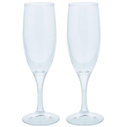 東洋佐々木ガラス(TOYO-SASAKI GLASS) ワインテラス シャンパングラス 2個セット