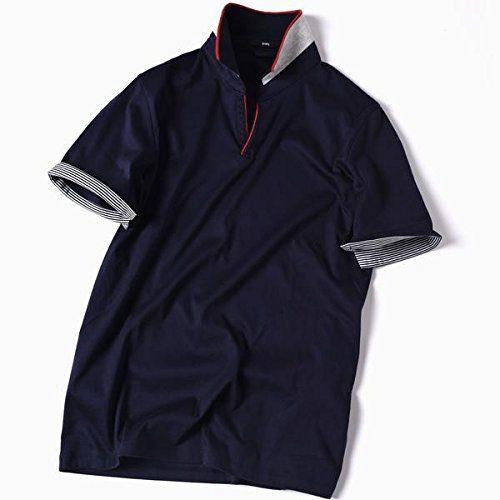 シップス(SHIPS) スキッパー ショートスリーブ ポロシャツ