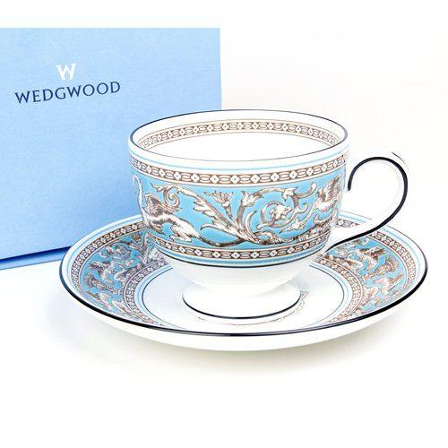 ウェッジウッド(WEDGWOOD) フロレンティーン カップ&ソーサー