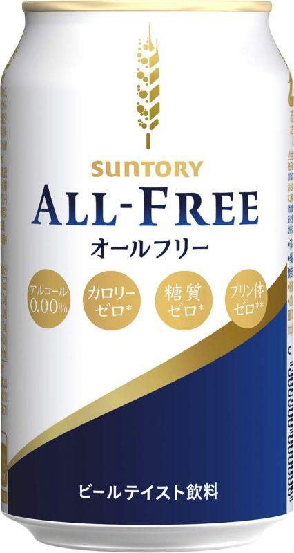 サントリー(SUNTORY) オールフリー ノンアルコールビールテイスト飲料 350ml