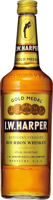 I.W.ハーパー(I.W.HARPER) ゴールドメダル バーボンウイスキー