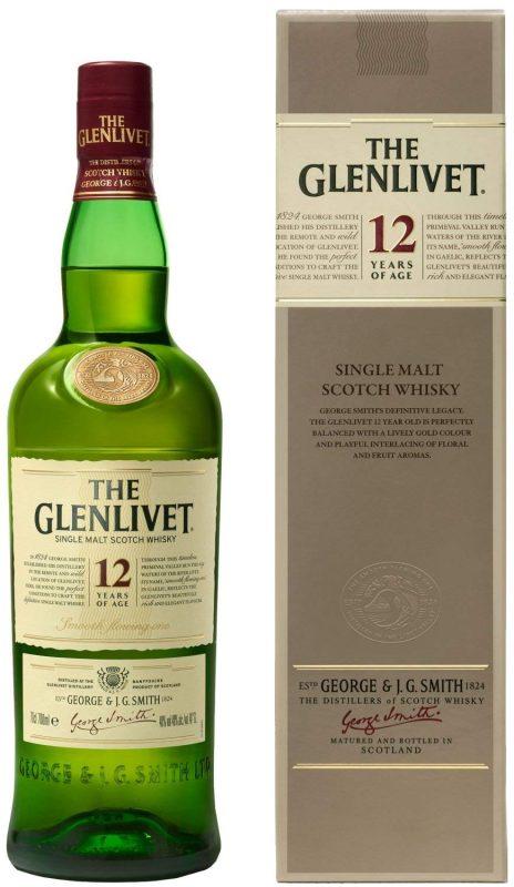 ザ・グレンリベット(THE GLENLIVET) 12年 シングルモルト スコッチウイスキー