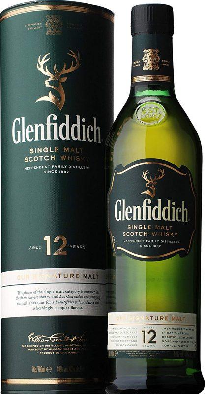 グレンフィディック(GLENFIDDICH)12年 シングルモルト スコッチウイスキー