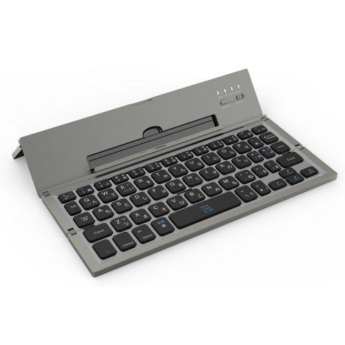 BATTOP Bluetooth折りたたみキーボード BT-C001-GR