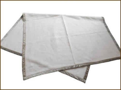 OZU カシミヤ20%入りウール毛布