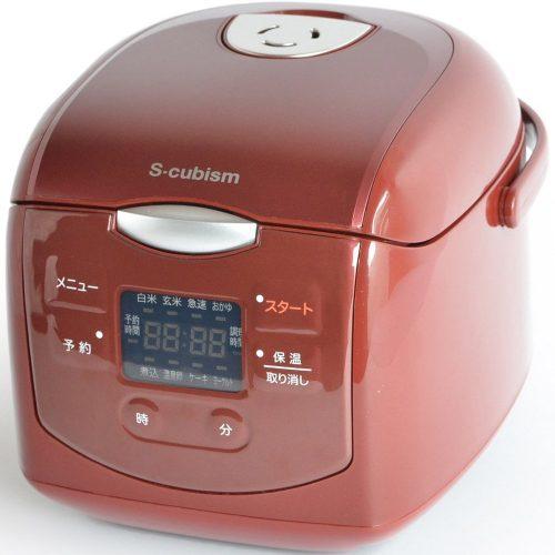 エスキュービズム(S-cubism) 4合炊き炊飯器 SCR-H40