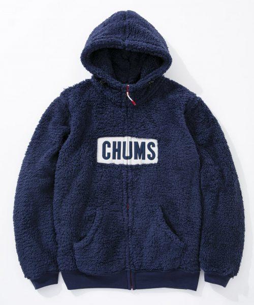 チャムス(CHUMS) フリース エルモ パーカー