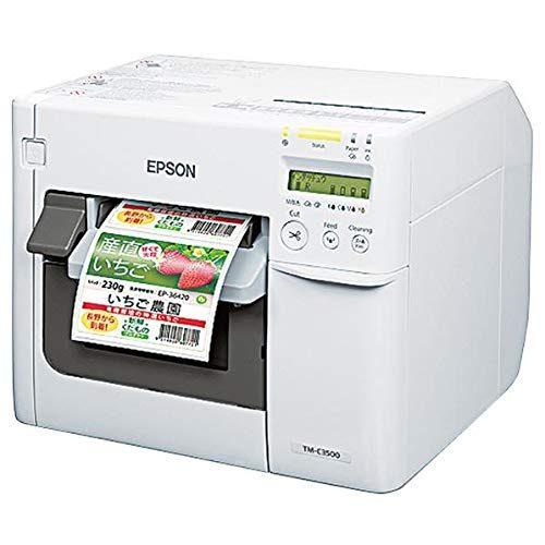 エプソン(EPSON) カラーラベルプリンター TM-C3500C0