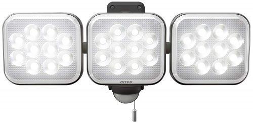 ムサシ(musashi) フリーアーム式LEDセンサーライト LED-AC3036