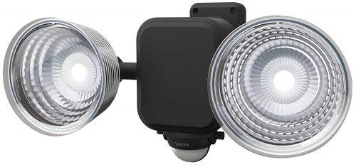 ムサシ(musashi) フリーアーム式 LED乾電池センサーライト LED-265