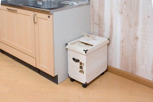 ナガノ産業 桐製米びつ高級米蔵シリーズ 20kg