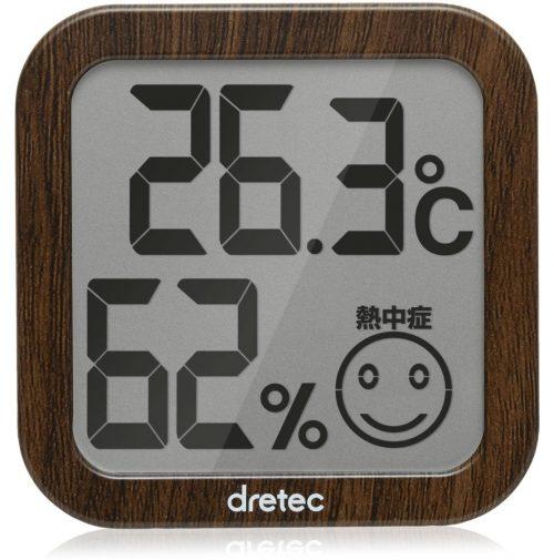 ドリテック(DRETEC) デジタル温湿度計 O-271