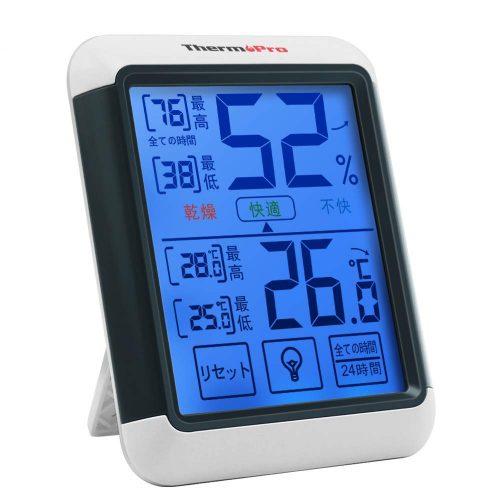 ThermoPro デジタル温湿度計 TP55