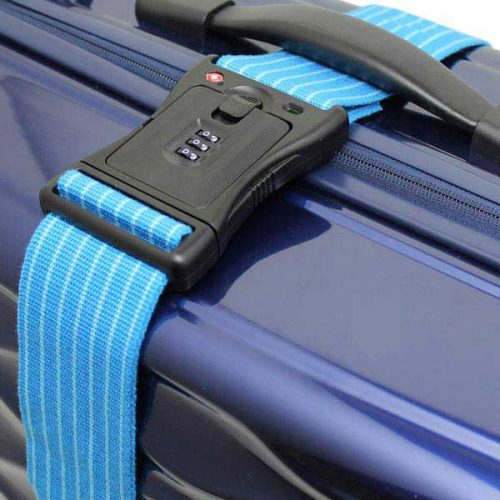TSAロック付き タイトフィット スーツケースベルト60