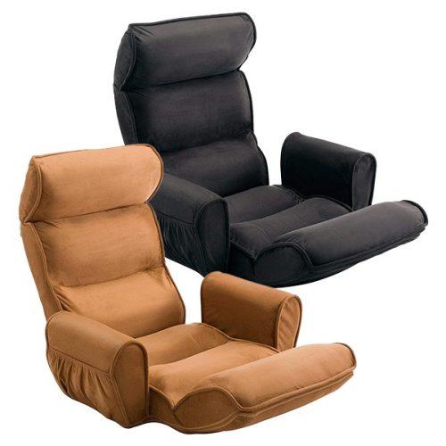 サンワサプライ(SANWA SUPPLY) ひじ置き付きハイバック座椅子 150-SNC090