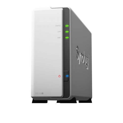 シノロジー(Synology) 1ベイNASキット DiskStation DS119j CS7434