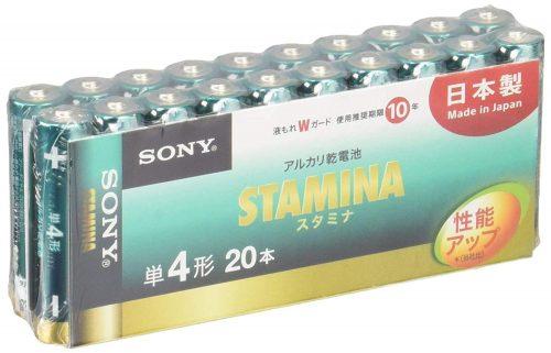 ソニー(SONY) スタミナ アルカリ 単3形乾電池