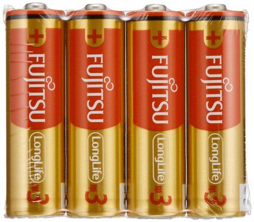 富士通(FUJITSU) Long Life アルカリ 単3形乾電池