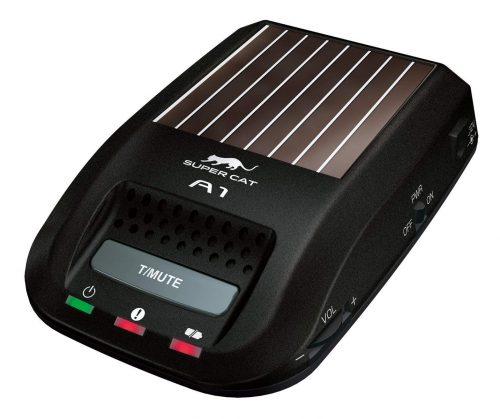 ユピテル(YUPITERU) ソーラー型レーダー探知機 一体型 A1