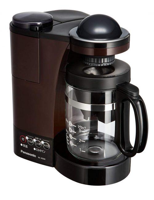パナソニック(Panasonic) ミル付き浄水コーヒーメーカー NC-R500-T