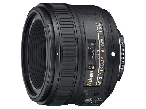 ニコン(Nikon) 単焦点レンズ AF-S NIKKOR 50mm f/1.8G フルサイズ対応 AF-S 50/1.8G