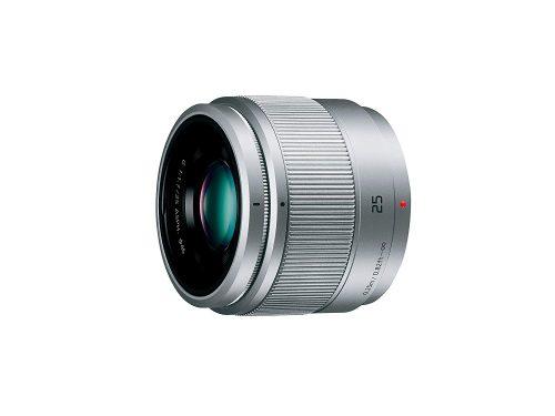 パナソニック(Panasonic) 単焦点レンズ マイクロフォーサーズ用 ルミックス G 25mm/ F1.7 ASPH. シルバー H-H025-S