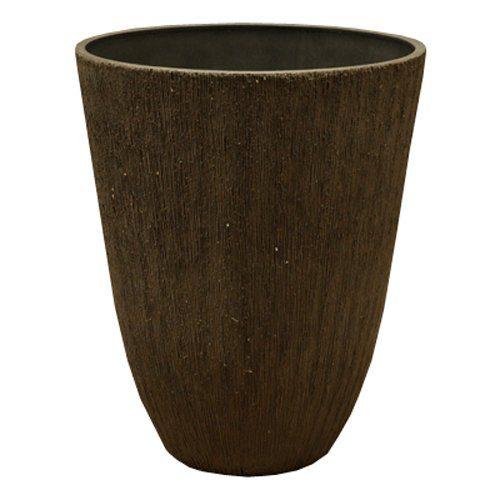 Life-Eco 樹脂製ポット ブラーシュ トールラウンド 29cm