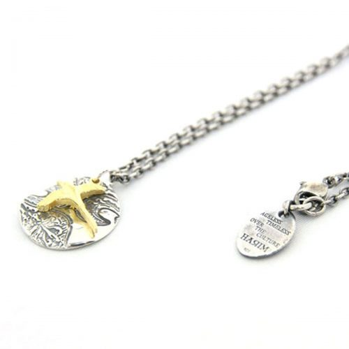ハリム(HARIM) arabesque sky & bird pendant Necklace