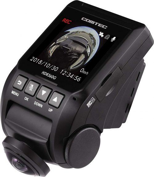 コムテック(COMTEC) 360°全方向ドライブレコーダー HDR360G