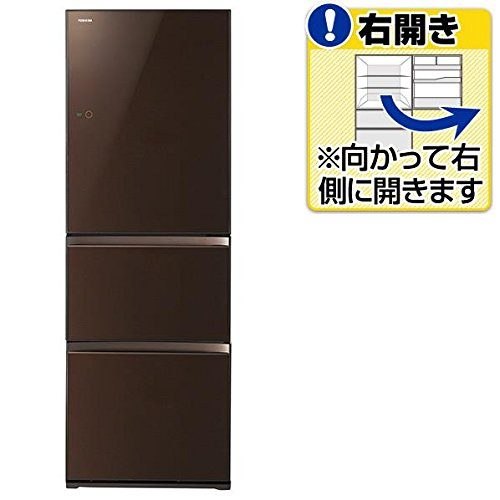 東芝(TOSHIBA) ノンフロン3ドア冷凍冷蔵庫 GR-H38SXV