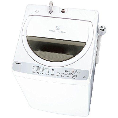 東芝(TOSHIBA) 縦型洗濯乾燥機 7kg AW-7G6