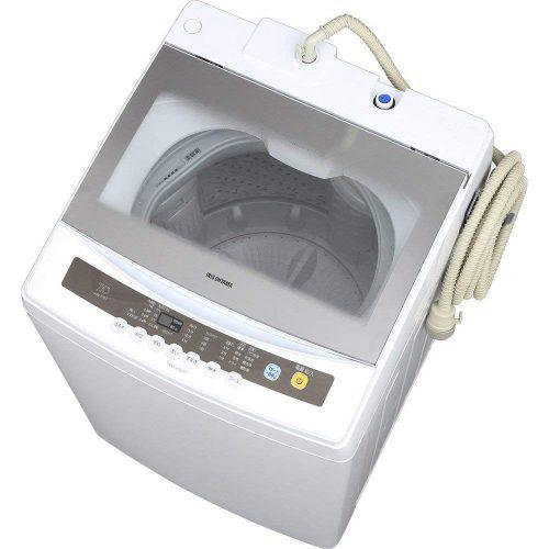 アイリスオーヤマ(IRIS OHYAMA) 全自動洗濯機 7kg 簡易乾燥機能付き IAW-T701